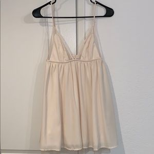 Cream dress from Tobi